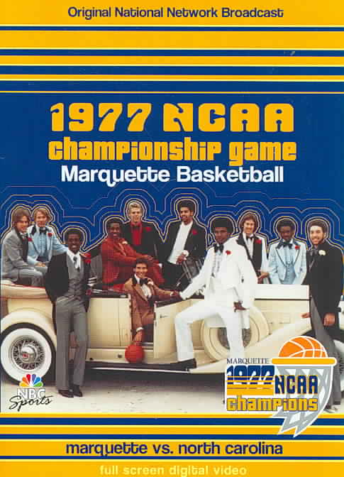 1977 NCAA CHAMPIONSHIP GAME:MARQUETTE (DVD)